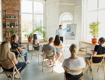 корпоративно обучение по езици